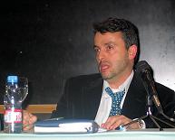Spanish Delegate Pedro Gomez